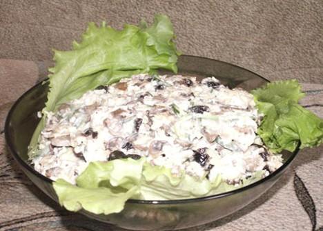 Салаты с орехами рецепты без курицы