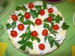 Салат-закуска из куриных сердечек