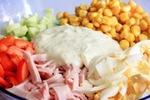 Низкокалорийная заправка для салата