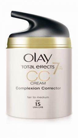 OLAY представляет новое мультифункциональное средство  Total Effects CC Cream