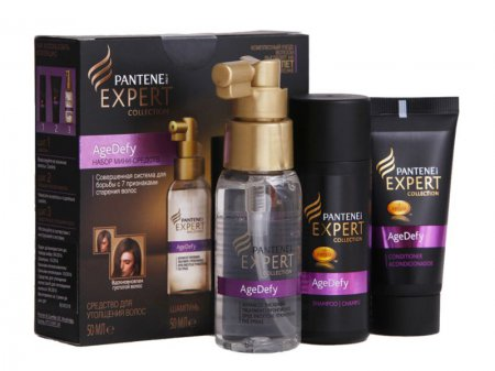 Коллекция Pantene Pro-V Expert Collection Age Defy в новом Travel формате