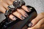 В моде – кружевные ногти