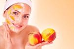 Полезные маски для кожи из персика