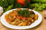 Как приготовить овощное рагу с курицей?