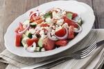 Салат с брынзой: рецепты