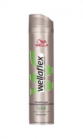 Wellaflex «Контроль над непослушными волосами» -  безупречная укладка на гладких, сияющих волосах