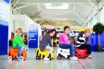 Детский багаж на колесах