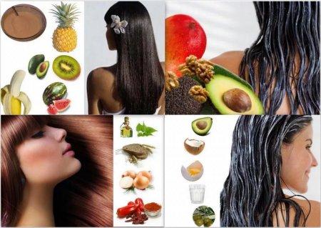 Несколько полезных питательных масок для волос