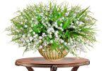 Искусственные цветы как средство украшения помещения
