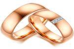 Обручальные кольца с камнями – разнообразие их видов